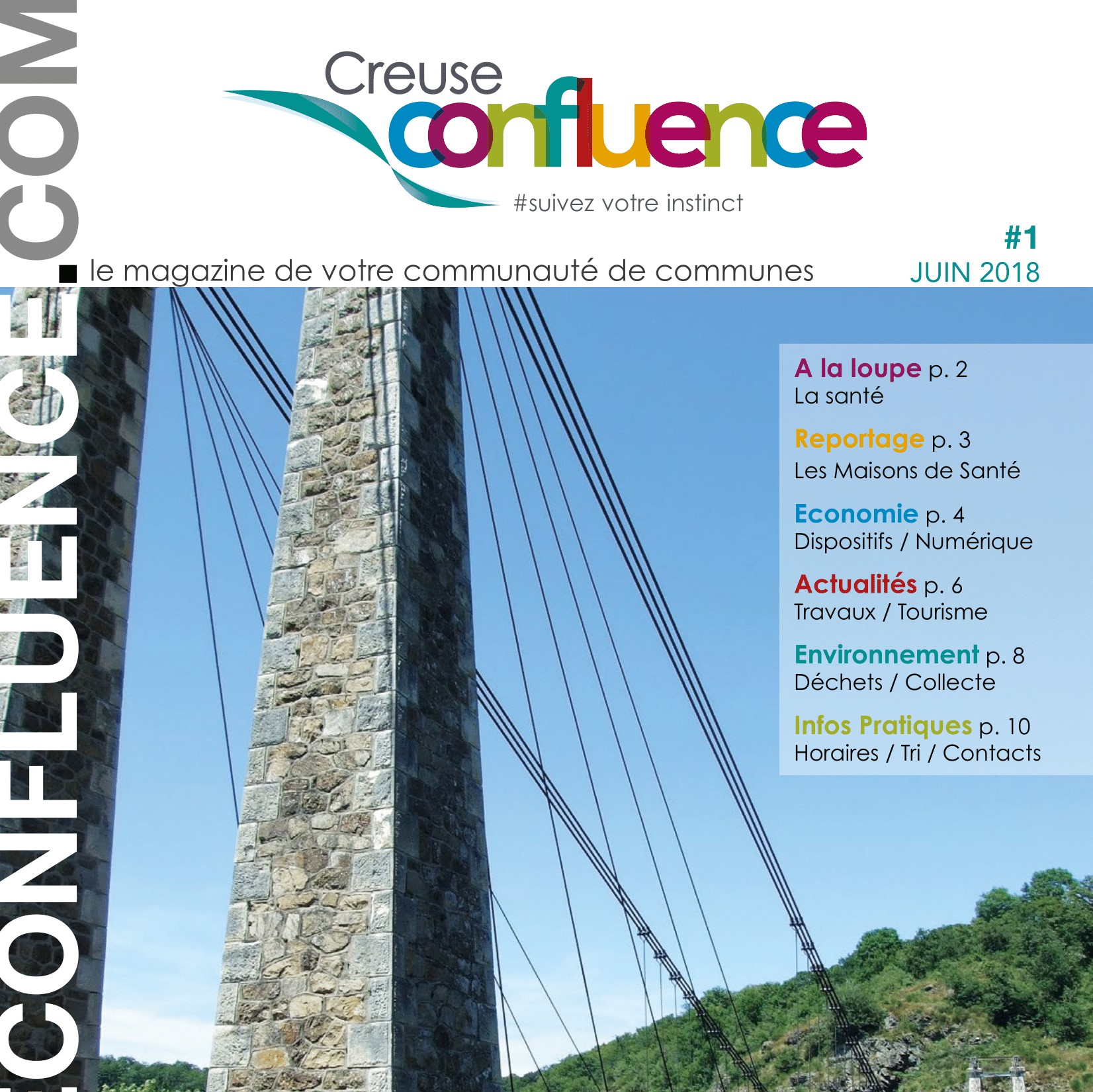 Magazine creuse confluence N°1