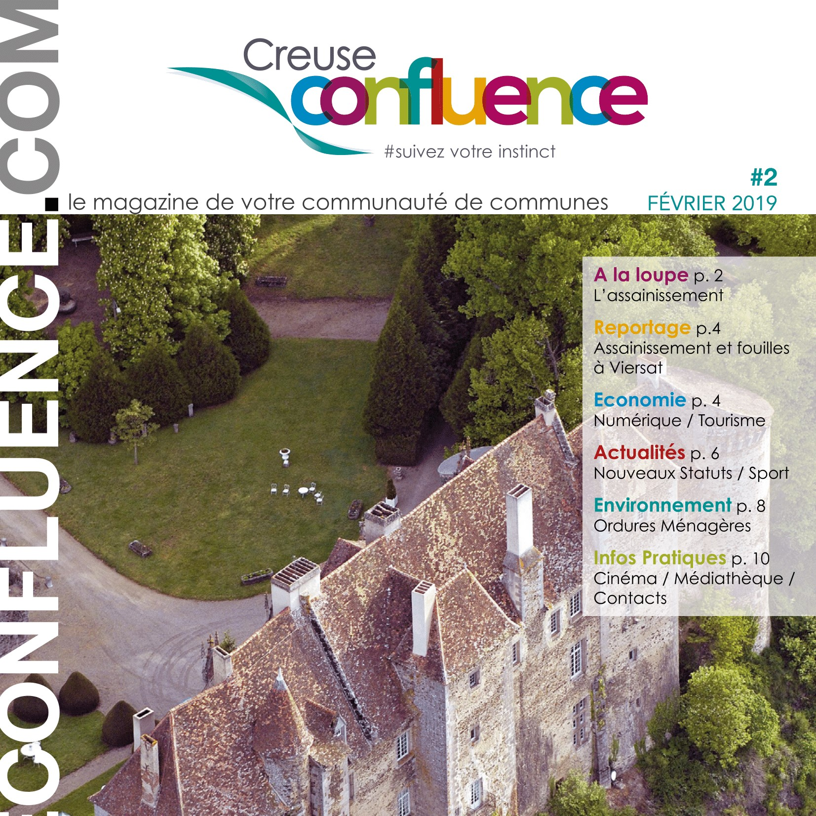Magazine creuse confluence N°2