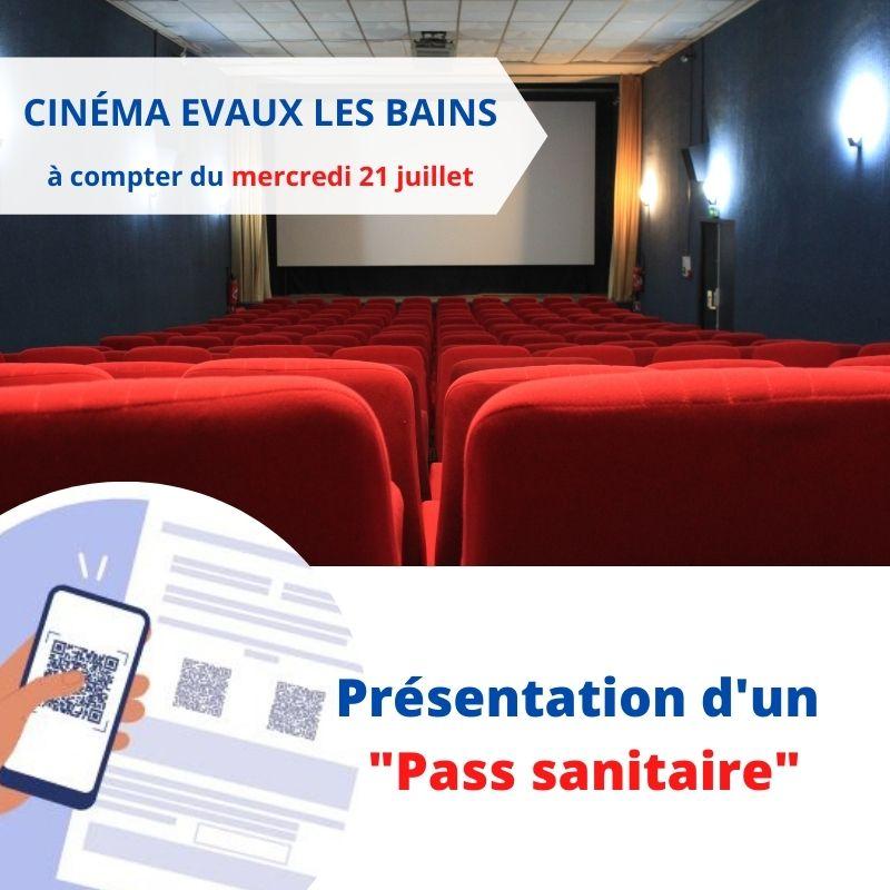 Cinéma Alpha Evaux les Bains : PASS sanitaire obligatoire