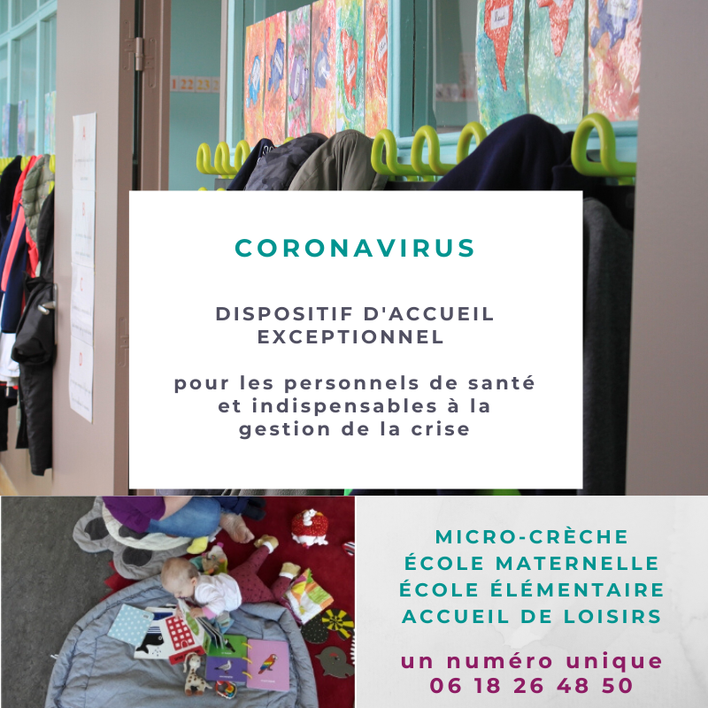 CORONAVIRUS – restriction de fonctionnement France Services
