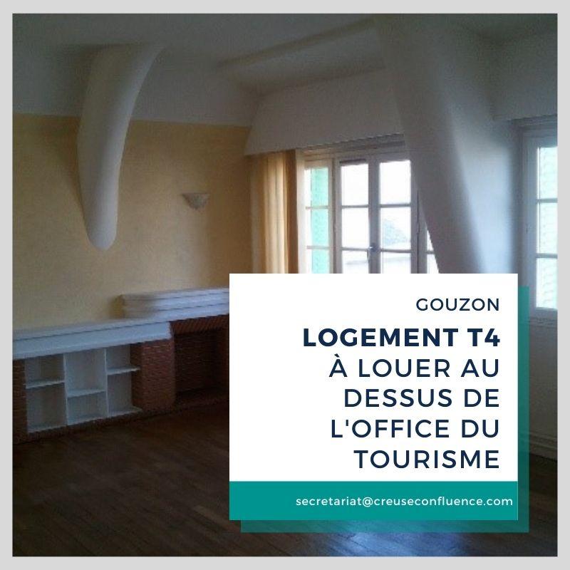 A louer T4 : Gouzon