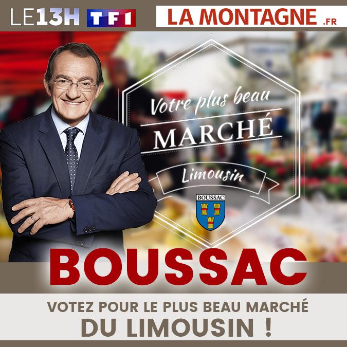 Le Marché de Boussac à l'honneur !