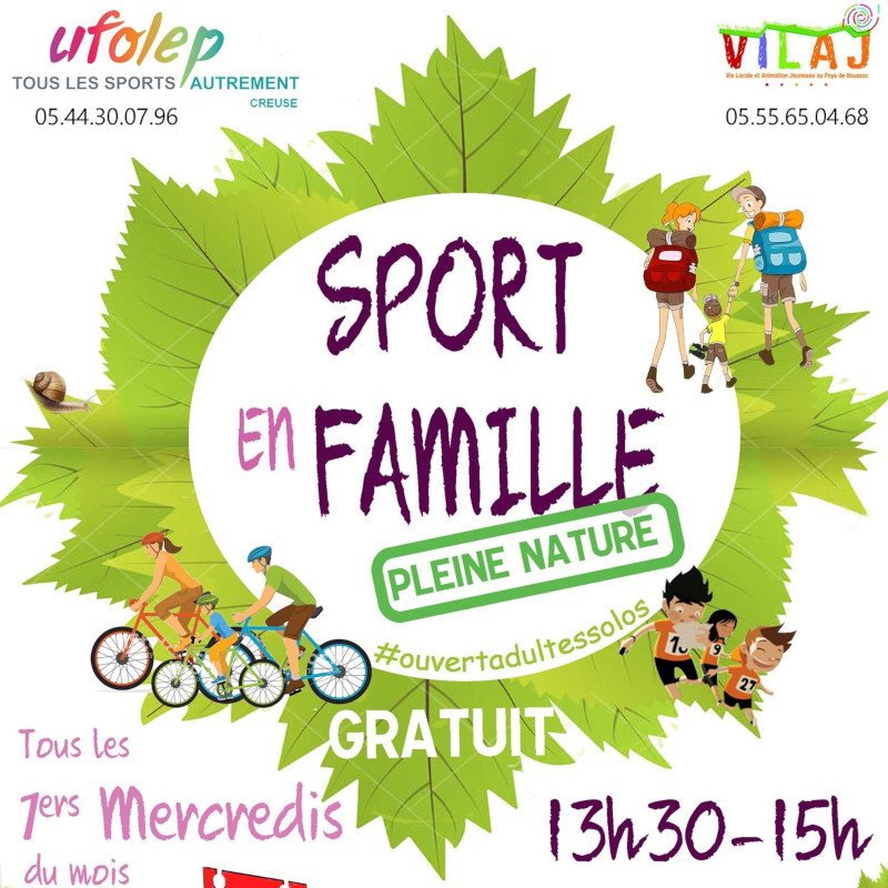 SPORT NATURE FAMILLE